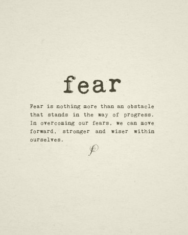 fear is nothing
